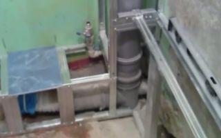 Как сделать короб из гипсокартона для труб в туалете – советы от профи