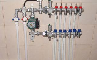 Расценки на монтаж отопления, водоснабжения и установке «теплый пол»