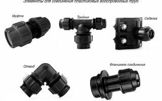 Соединительные муфты для пластиковых труб и их виды