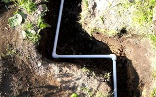 Прокладка водопровода из полипропиленовых труб в земле своими руками
