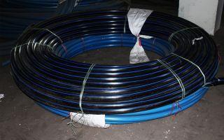 Водопроводные трубы пнд для холодного водоснабжения: их характеристики и монтаж