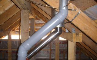 Вытяжная труба для вентиляции в частном доме – советы как выбрать