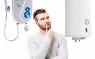 Какой водонагреватель лучше – проточный или накопительный, разберем плюсы и минусы