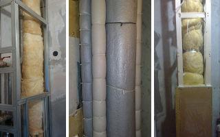 Шумоизоляция труб канализации в квартире, узнаем какая лучше