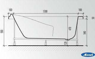 Высота ванны от пола – стандарты и нормы, насколько можно откланяться от них, инструкция по монтажу