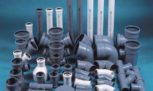 Сантехнические трубы и переходники пвх для канализации