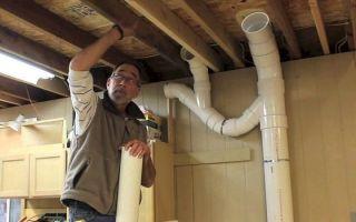 Вентиляция из канализационных труб – миф или реальность?