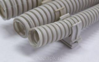 Электротехнические гофрированные поливинилхлоридные трубы