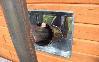 Как сделать дымоход из стальной трубы самостоятельно