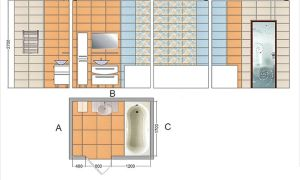 Как рассчитать плитку в ванную комнату – калькулятор онлайн