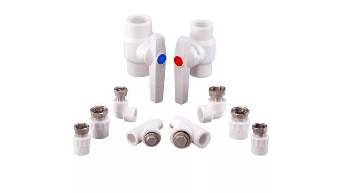 Фитинги для пластиковых труб виды конструктивных элементов