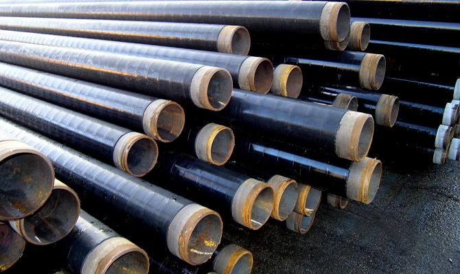 Гидроизоляция стальных труб типа весьма усиленная